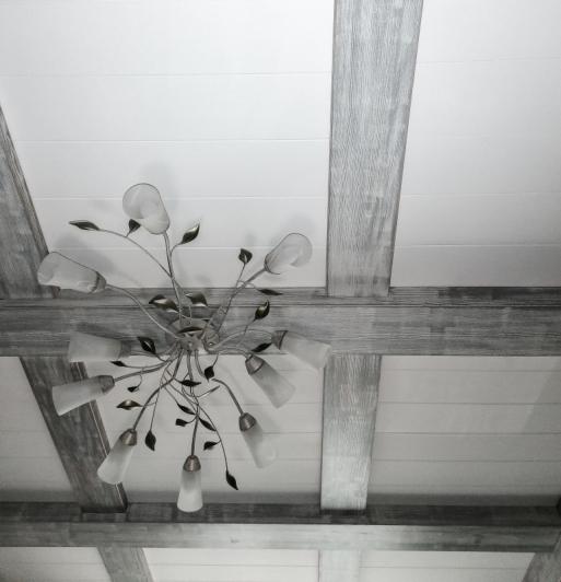 Потолок из массива 4