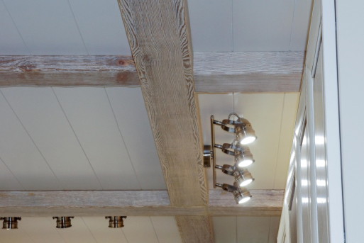 Потолок из массива 5