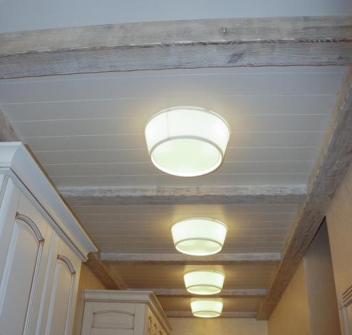 Потолок из массива 6