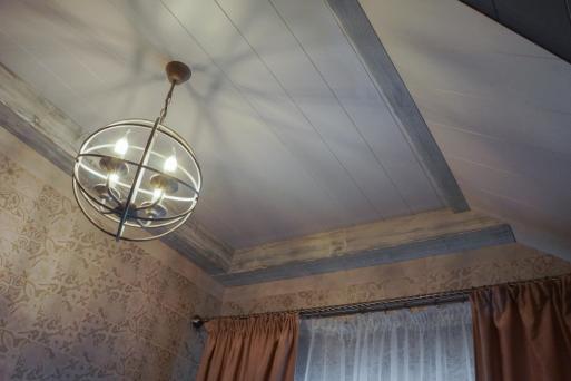 Потолок из массива 7