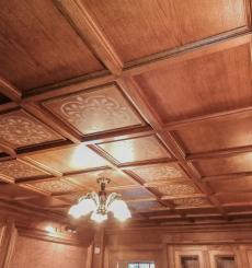 Потолок из массива 1