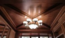 Потолок из массива 2