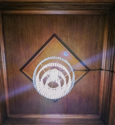 Потолок из массива 3